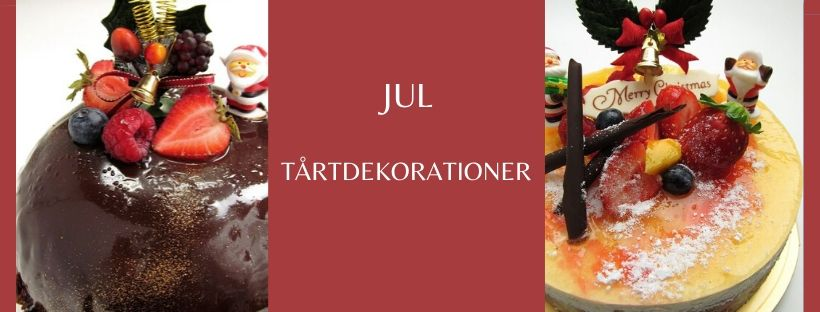 jul tårtdekorationer
