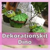 Recension på dino dekorationskit